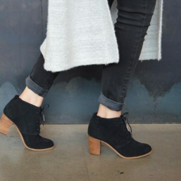 Toms Shoes | Toms Lunata Lace Up Heel
